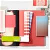 2019新版 PANTONE彩通CMYK-光面铜版纸&胶版纸 四色叠印印刷色卡套装 GP5101A