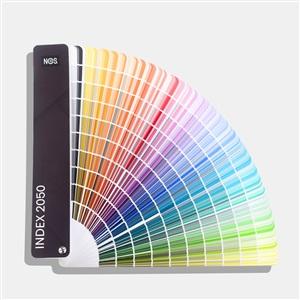 NCS色卡 国际标准涂料建筑设计-A-6 NCS index 1950色-便携式扇形版