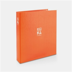 RAL色卡劳尔色卡RAL-K4 经典色彩活页夹A4色彩