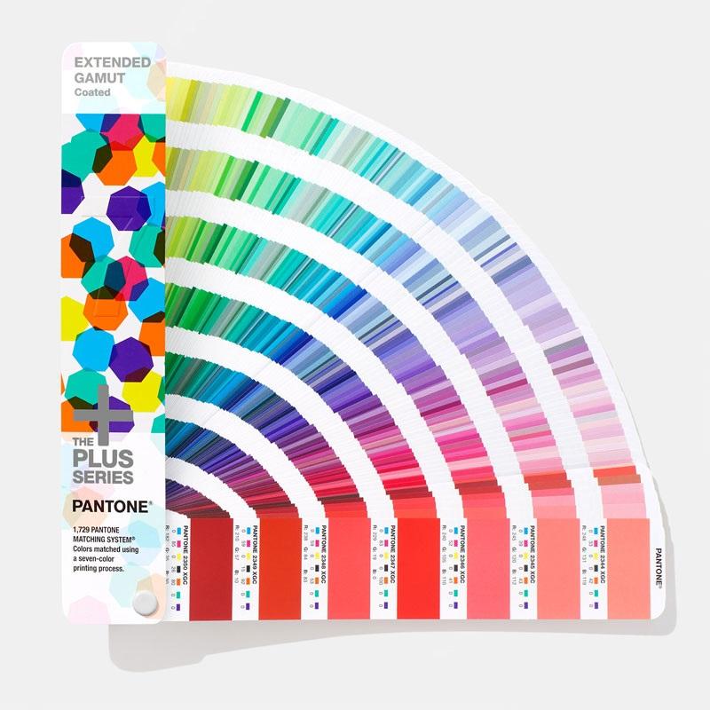 PANTONE彩通(潘通色卡)广色域指南 国际标准色卡C卡CMYKOGV七色印刷 GG7000