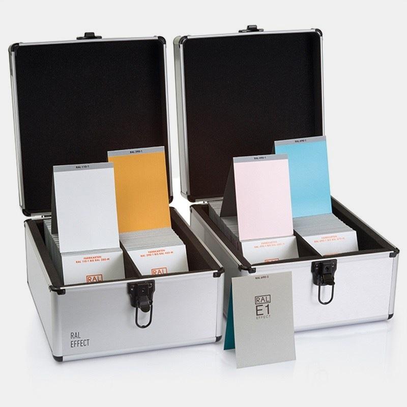 RAL(劳尔)色卡  RAL-E1 实色/金属色 490种颜色原标准 RAL E1