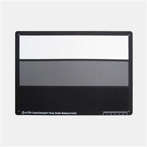 爱色丽 X-Rite 三阶灰度卡 标准型色卡 3-step Gray Scale 白灰黑