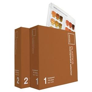 PANTONE彩通(潘通)塑胶透明色选色手册 国际标准色卡 T开头色号