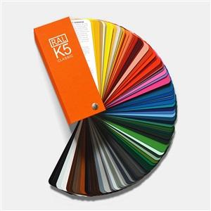 RAL劳尔国际标准 K5色卡 213色