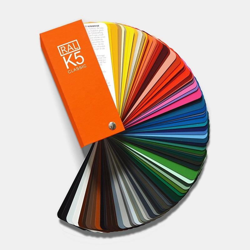 RAL劳尔国际标准 K5色卡 213色 RAL-K5