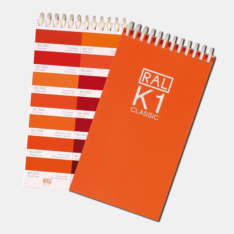 RAL(劳尔)色卡 K1色彩工具 RAL-K1
