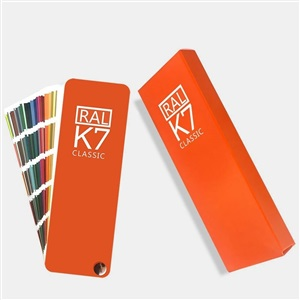 新品 RAL劳尔国际标准 K7色卡  213色