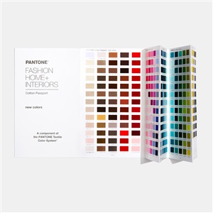 2020新品 TCX色卡 棉布版通行证增页 315新增色独立补充版 FHIC210A