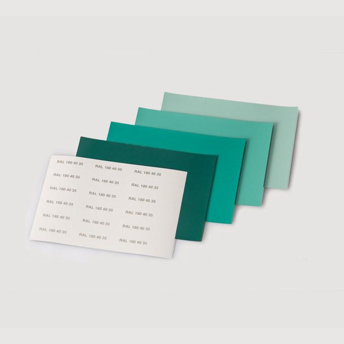 RAL(劳尔)色卡 DESIGN设计师版 A6格式单页