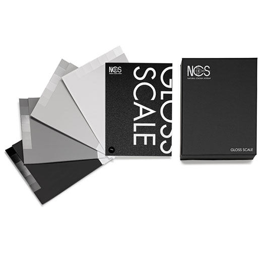 NCS光泽度标尺 NCS Glossy Scale ND-3