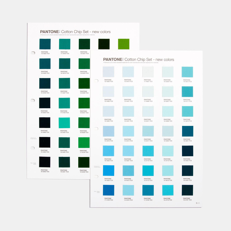 2020新品 TCX色卡棉布版色票套装增页 315新增色独立补充版 FHIC410A